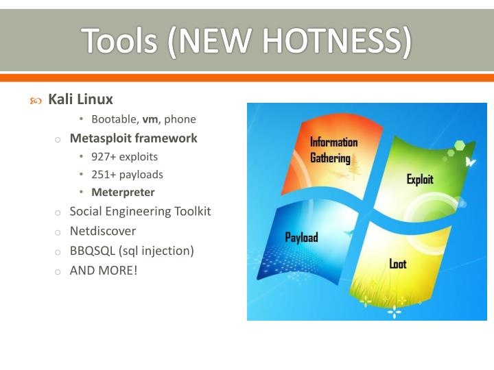 Tools (NEW HOTNESS)
