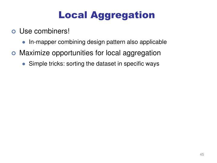 Local Aggregation