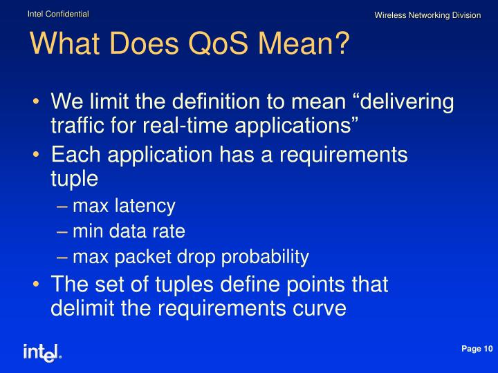 What Does QoS Mean?