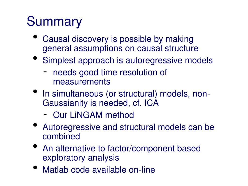 PPT - Causal discovery, Bayesian networks, and structural