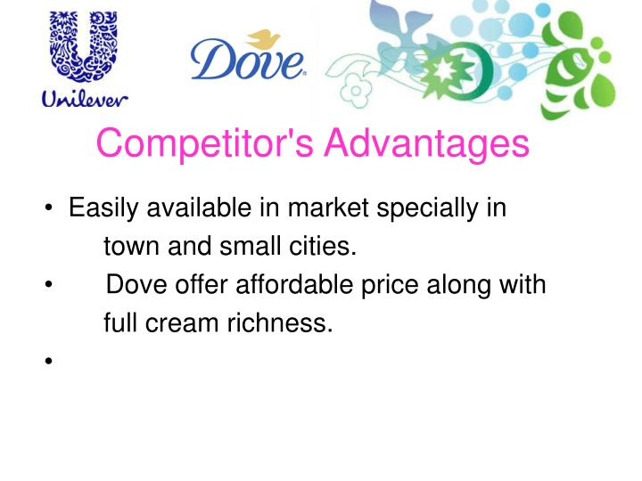 Competitor's Advantages
