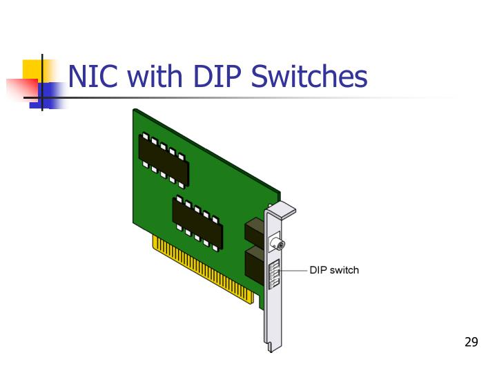 NIC with DIP Switches