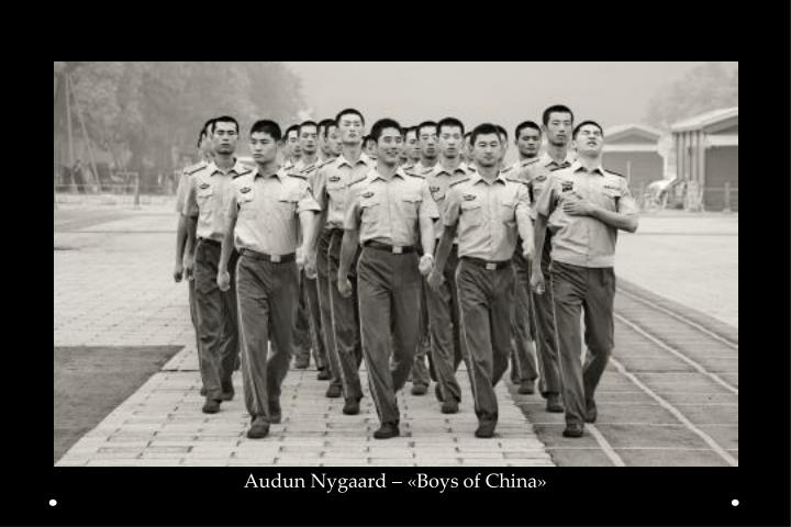 Audun Nygaard – «Boys of China»