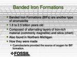 banded iron formations