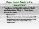 great lakes basin in the precambrian