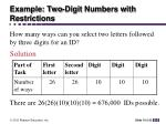 example two digit numbers with restrictions1