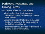 pathways processes and driving forces2