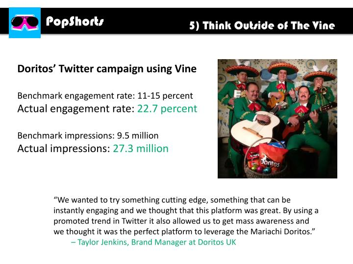 5) Think Outside of The Vine