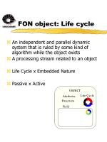 fon object life cycle