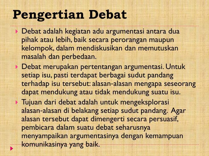 Ppt Debat Powerpoint Presentation Id 6077447