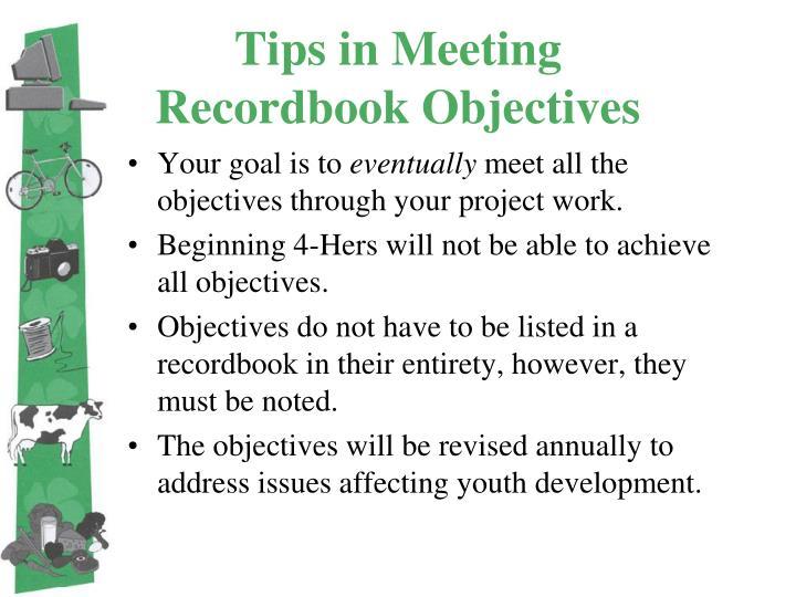 Tips in Meeting