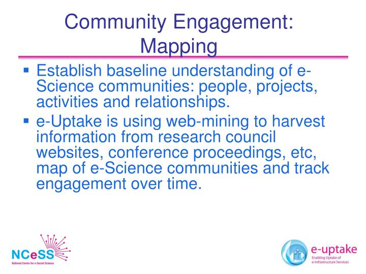 Community Engagement: Mapping