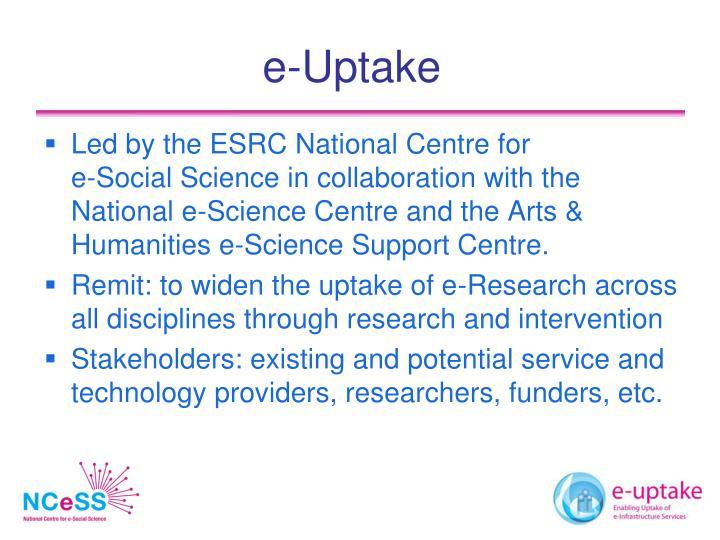 e-Uptake