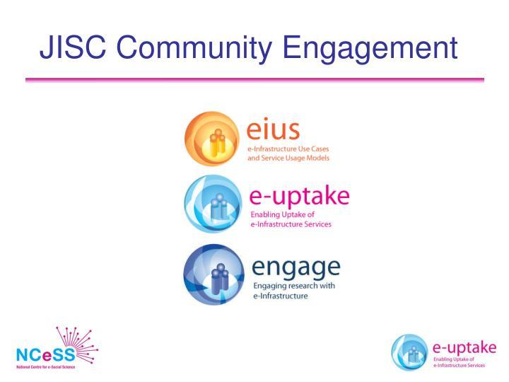 Jisc community engagement