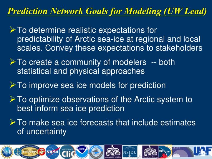 Prediction Network Goals for