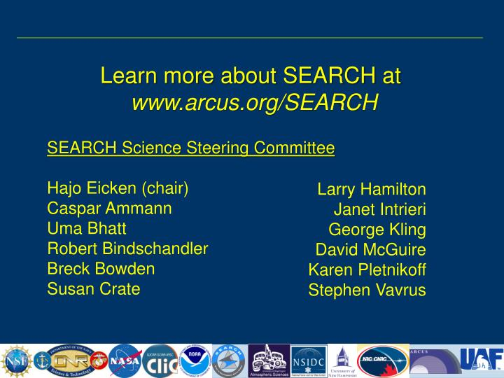 Learn more about SEARCH at