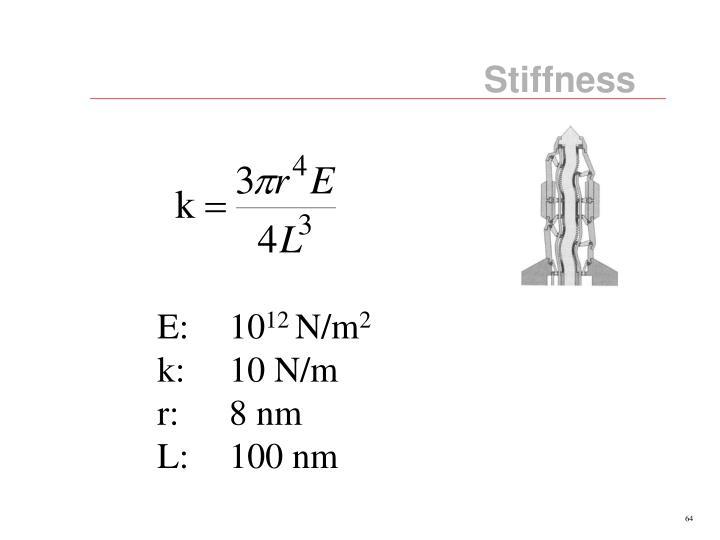 Stiffness