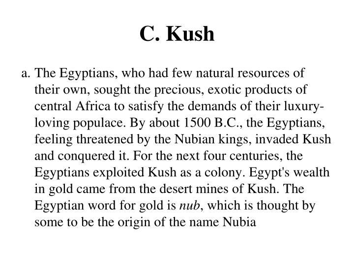 C. Kush