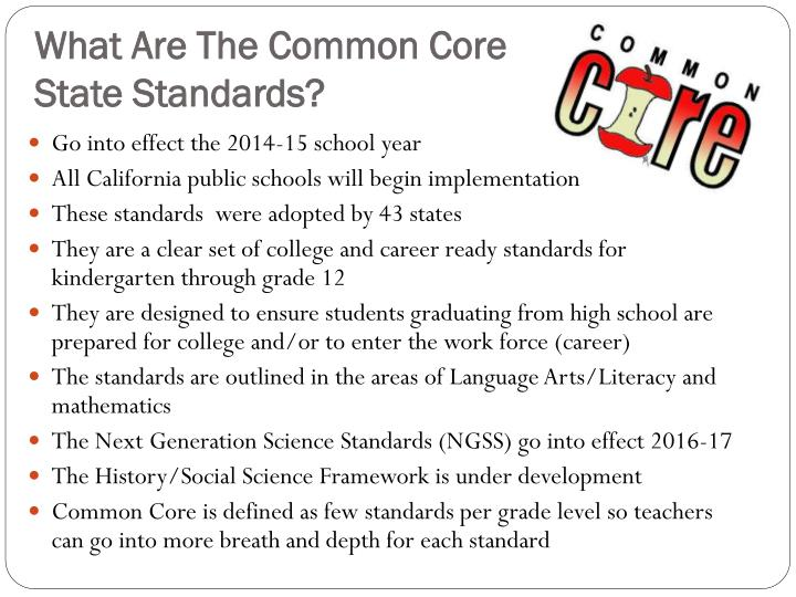 What Are The Common Core