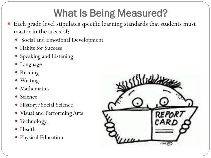 What is being measured