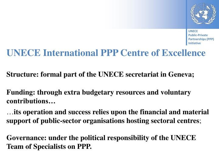 UNECE International PPP Centre of Excellence