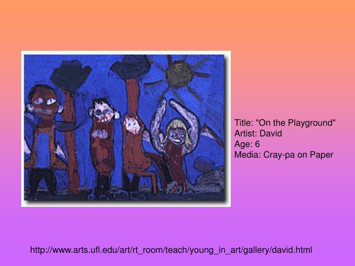 """Title: """"On the Playground"""""""