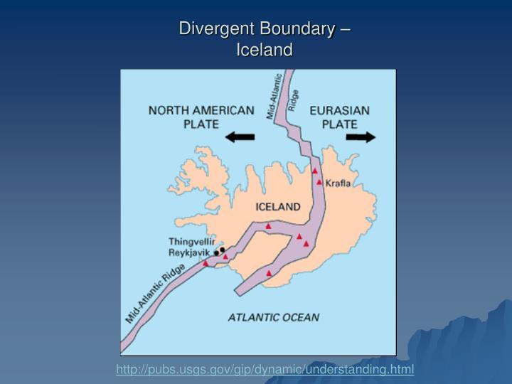 Divergent Boundary –