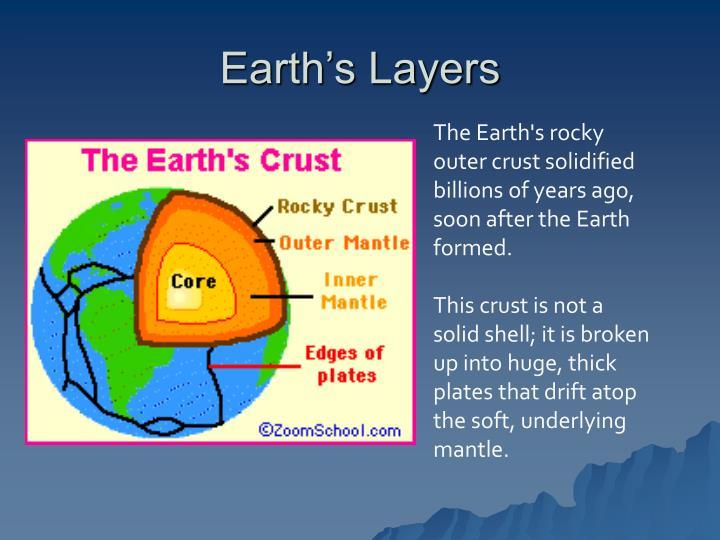 Earth s layers