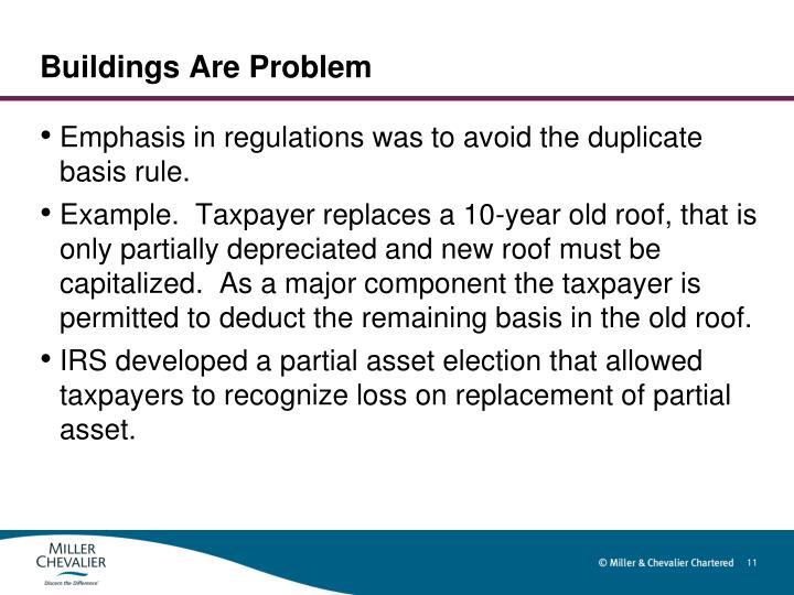 Buildings Are Problem