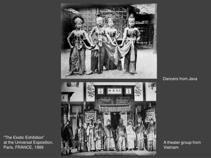 Dancers from Java