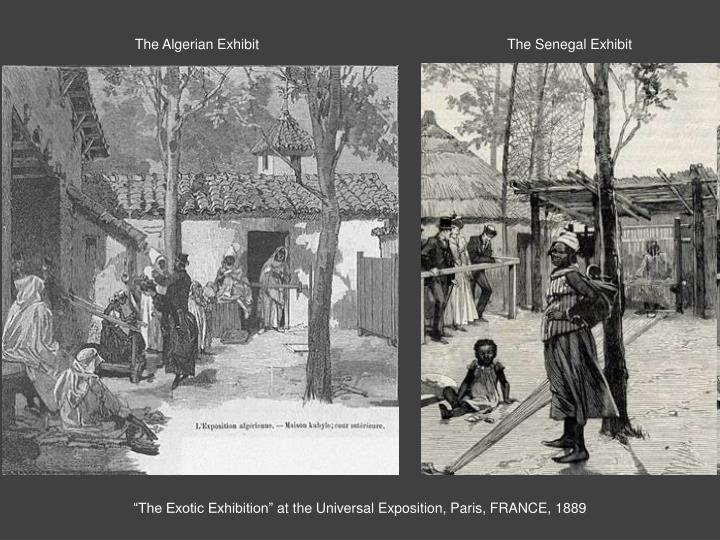 The Algerian Exhibit