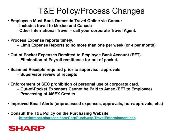 t e policy process changes n.