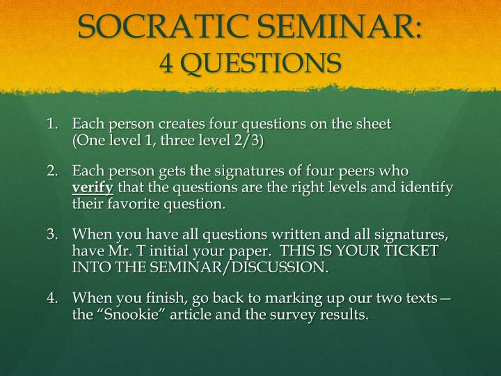 song of solomon socratic seminar discussion Socratic seminars can help middle school students learn how to use effective habits of discussion, explain their ideas, and support them with evidence.