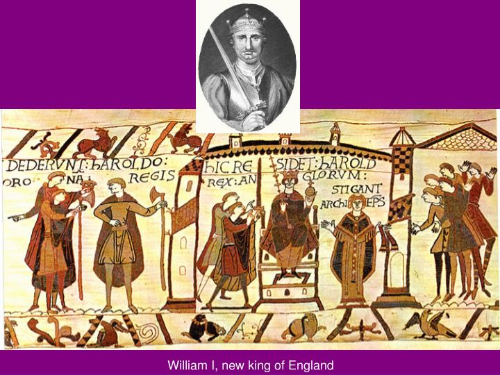 William I, new king of England