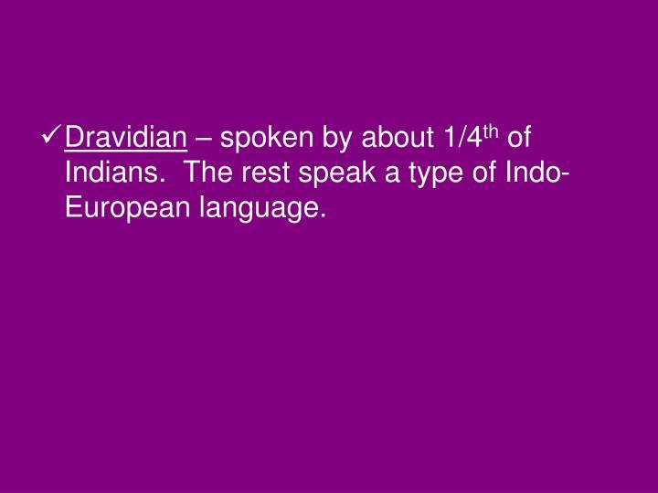 Dravidian