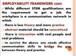 employability framework cont