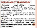 employability framework