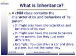 what is inheritance7