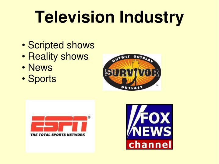 Scripted shows