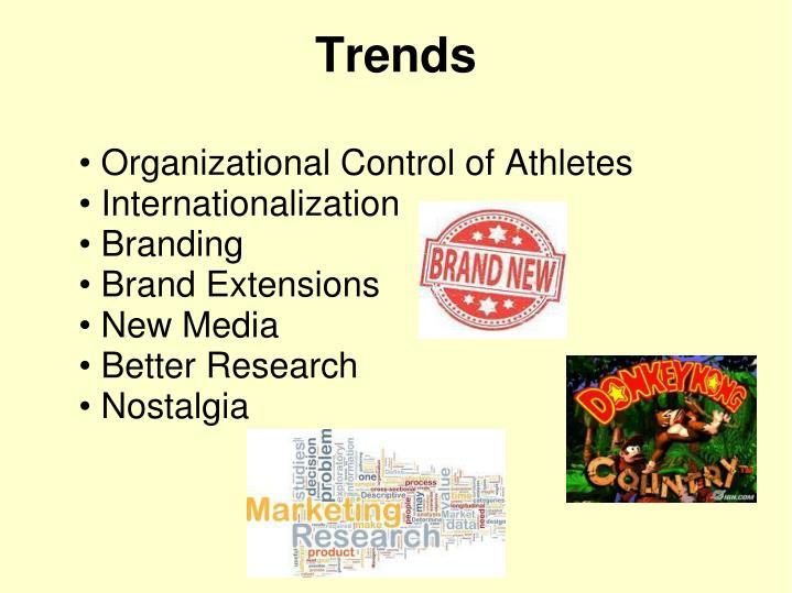 Organizational Control of Athletes