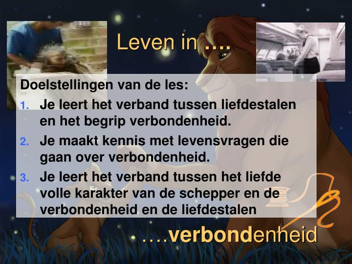 Leven in1