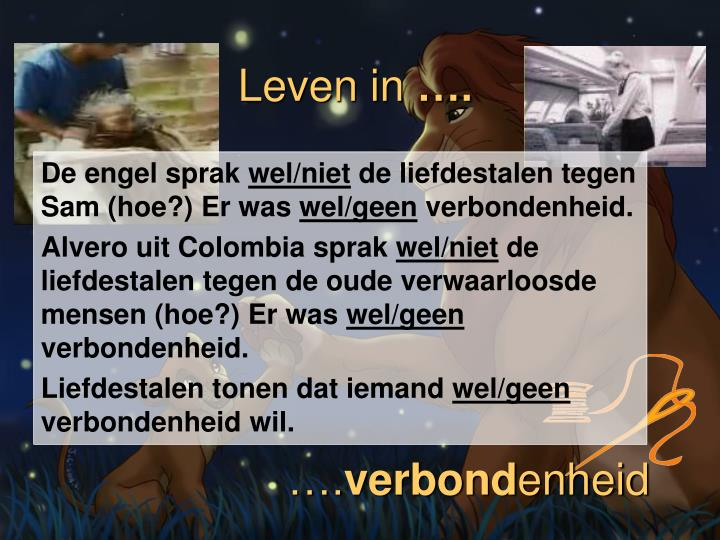 Leven in