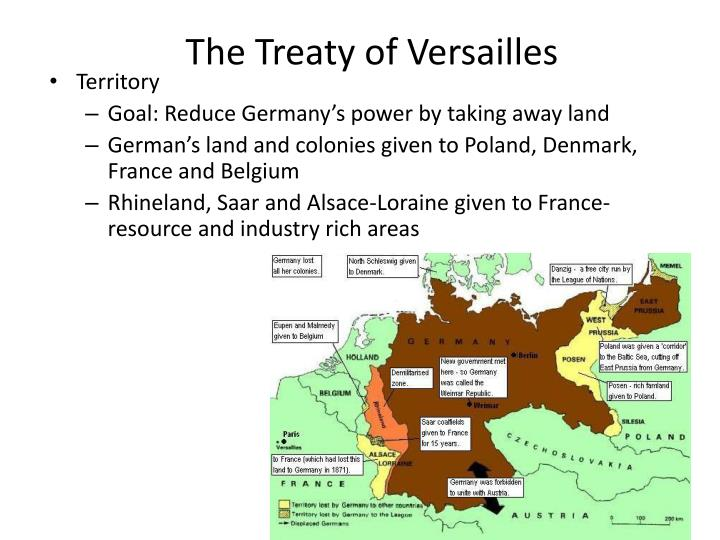 destructiveness of the treaty of versailles Arms control, any international control or limitation of the development, testing, production, deployment, or use of weapons based on the premise that the continued existence of certain national military establishments is inevitable.