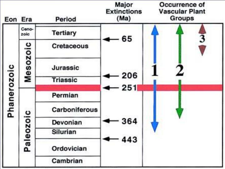 Five Mass Extinctions-Climate Change the Culprit