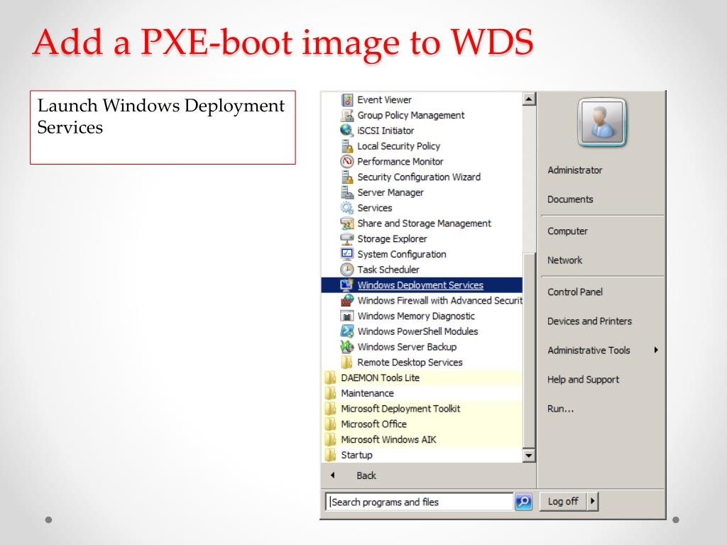 Microsoft Pxe Boot