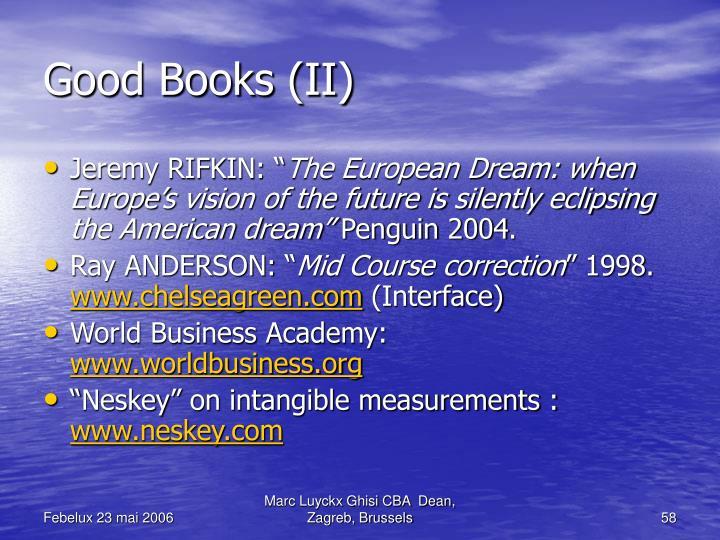 Good Books (II)