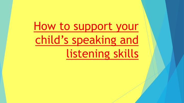 the importance of oral communication in infants This is a great reminder of opportunities to take in communication so many children lack social and oral skills when it is so important to help children.
