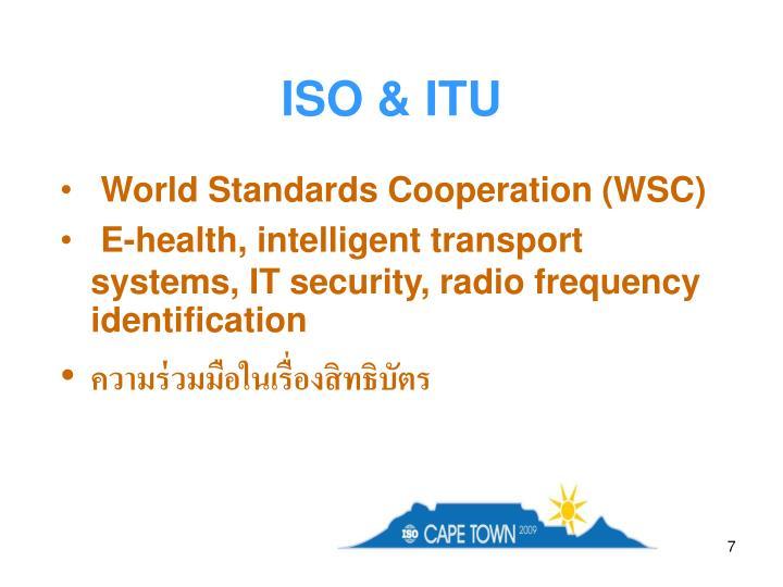 ISO & ITU