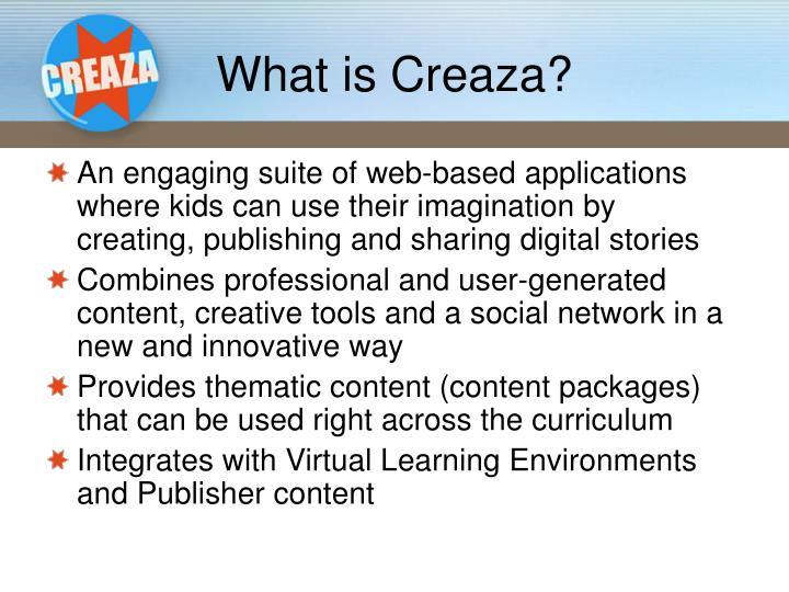 What is creaza