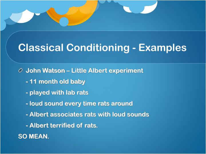ppt - classical conditioning powerpoint presentation